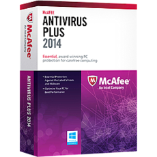 McAfee AntiVirus Plus 2014