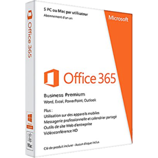 t l charger microsoft office 365 business premium au meilleur prix. Black Bedroom Furniture Sets. Home Design Ideas
