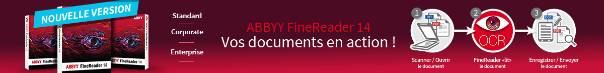 Abbyy FineReader 14 - Vos documents en action !