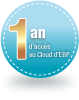 1 an d'accs au Cloud EBP