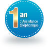 1 an d'Assistance tlphonique