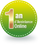 1 an d'Assistance Online