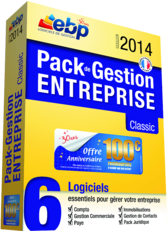 EBP Pack de Gestion Entreprise Classic Open Line 2013